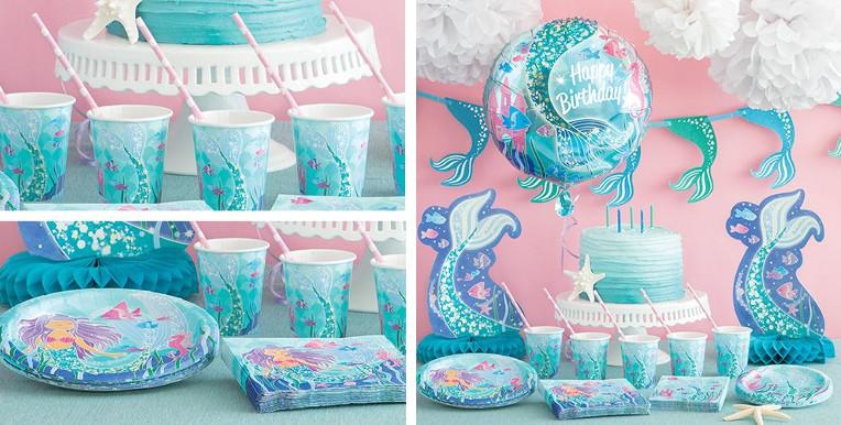 Decoración De Sirenas Para Fiestas Y Cumpleaños