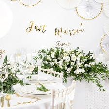 Decoración para bodas White and Gold