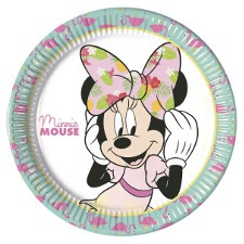 Decoración Minnie Tropical