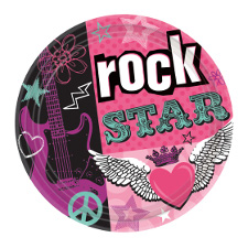 Decoración Rock Star