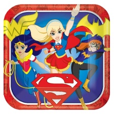Decoración Super Hero Girls