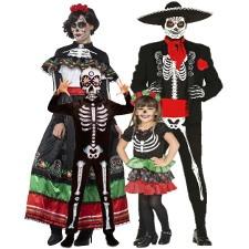 Disfraces De Esqueleto Para Adultos Y Niños Baratos