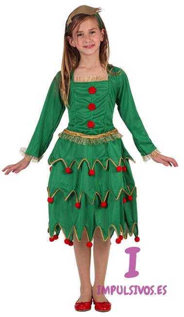 Disfraz de rbol de navidad barato - Disfraz navideno nina ...