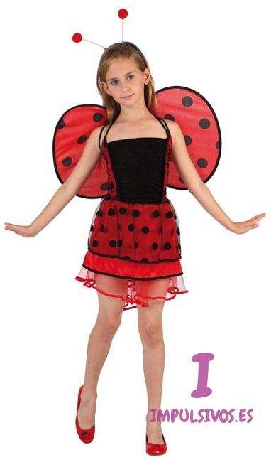 Compra tu disfraz de mariquita infantil por 14 95 - Disfraz de mariquita de nina ...