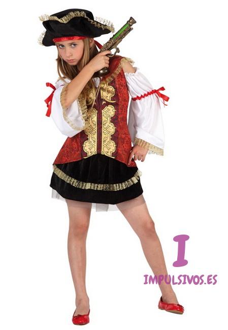 Disfraz de capitán pirata para niña por 20 9ac5ba95c77