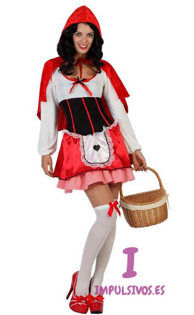 disfraces mujer caperucita roja