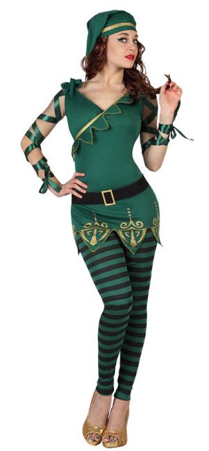 Compra tu disfraz de duende navide o para mujer por 22 - Disfraces navidenos originales ...