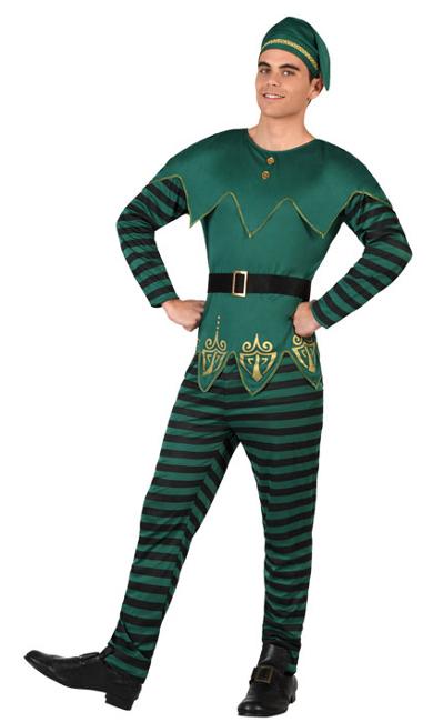 Disfraz de duende navide o para hombre los disfraces m s originales para navidad - Disfraces navidenos originales ...