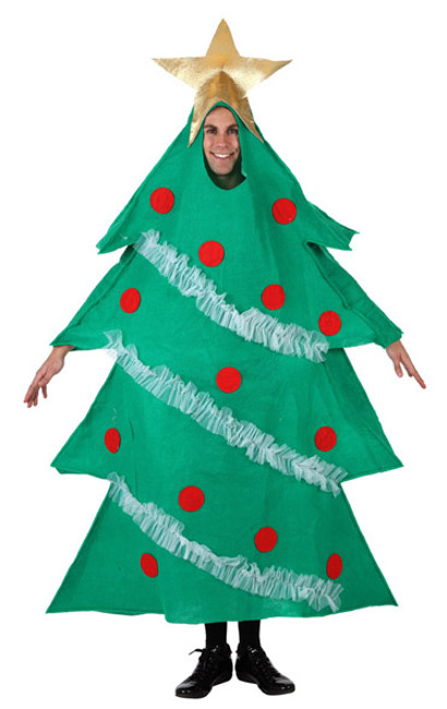 Disfraz de rbol de navidad para hombre muy divertido y - Disfraces para navidad ninos ...