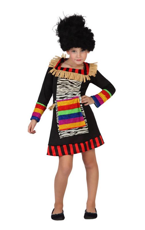 disfraz de africano para nia