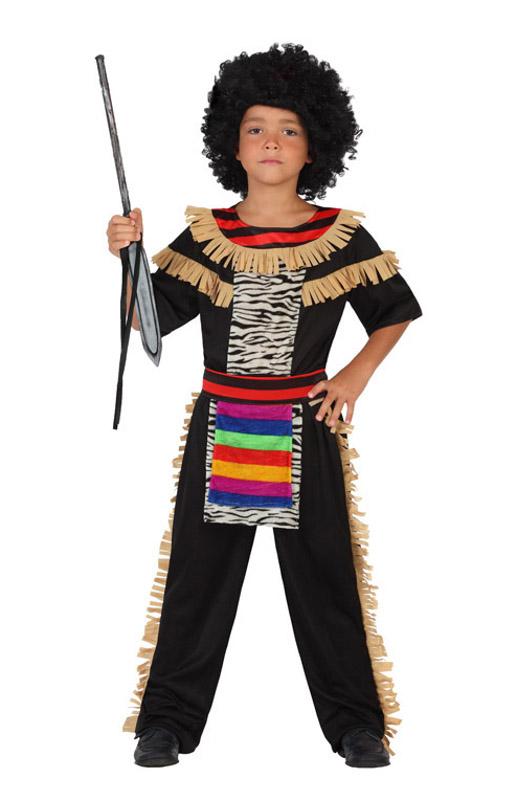 disfraz de africano para nio