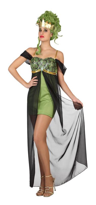 Disfraz de diosa griega medusa para mujer por 14 25 for En la mitologia griega la reina de las amazonas