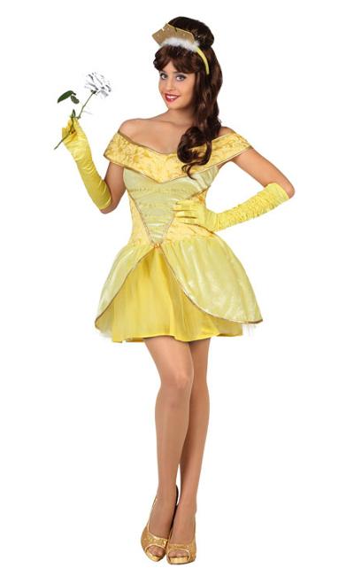 Disfraz De Princesa Bella Para Adulta Por 19 75