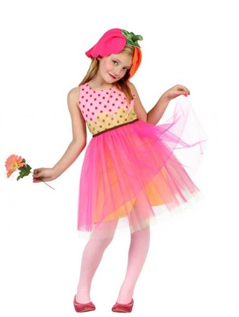 Compra tu disfraz de flor para niña por 14,95 €