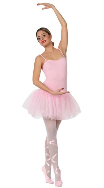 5d4757c4e Disfraz de bailarina rosa con tutú