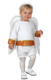 disfraz de ngel blanco para beb