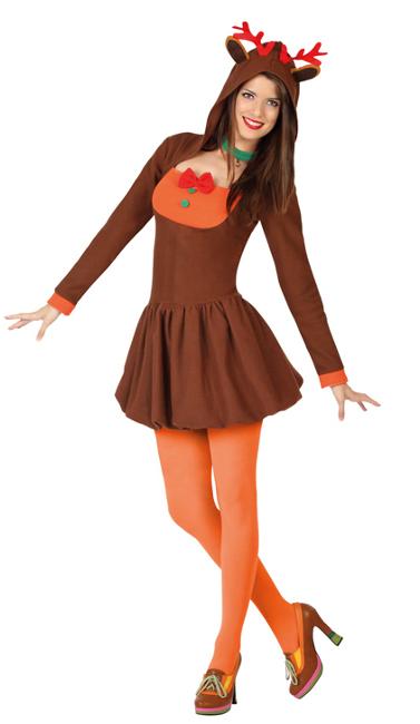 Compra tu disfraz de reno navide o para mujer por 18 - Disfraces navidenos para ninas ...