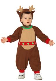 disfraz de reno navideo para beb