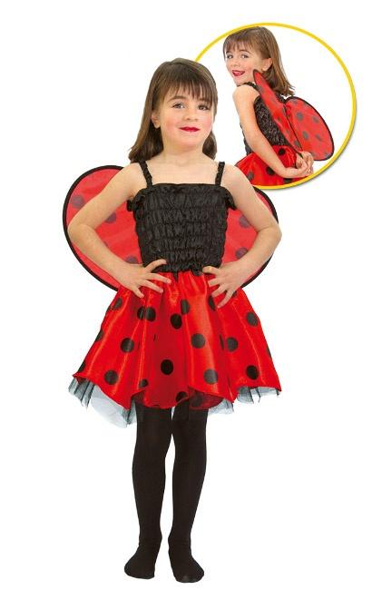 Disfraz de mariquita para ni a con alas - Disfraz de mariquita de nina ...