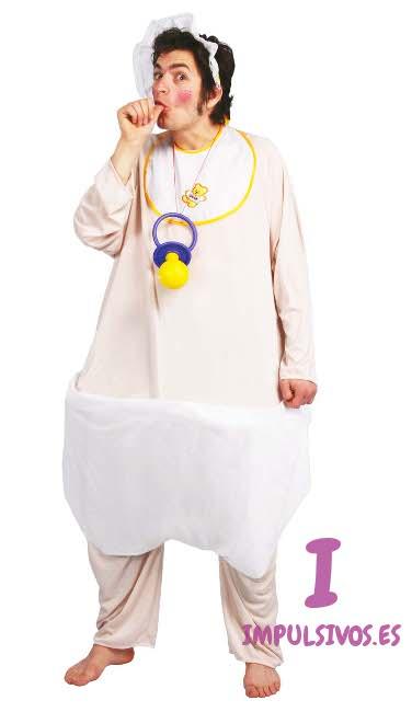 Disfraz de beb para hombre en talla nica por 23 00 - Disfraces navidenos para bebes ...