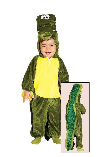 216e42dd9f Disfraz de cocodrilo para bebé en tallas 1 a 24 meses