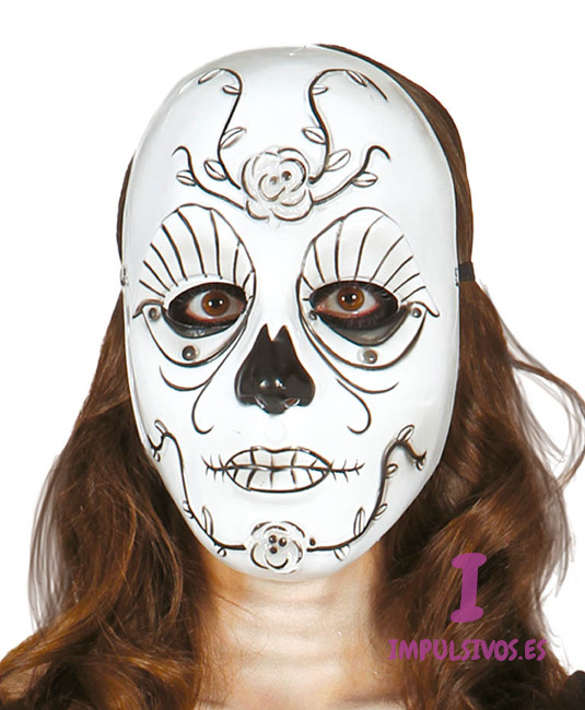 Como decorar una mascara de catrina imagui for Caretas disfraces
