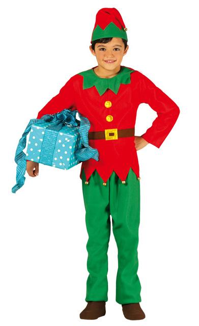 Original disfraz de elfo navide o para ni o y ni a - Disfraz navideno nina ...