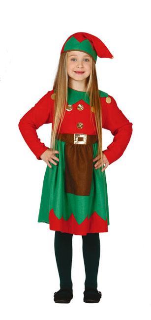 producto relacionado disfraz de elfo para nia