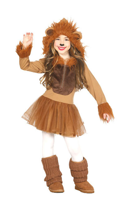 disfraz leon mujer