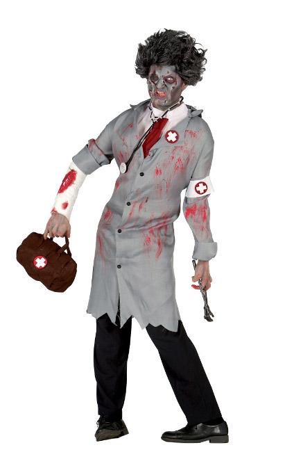 disfraz de doctor zombie para hombre