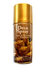 Bote de spray oro de 150 ml
