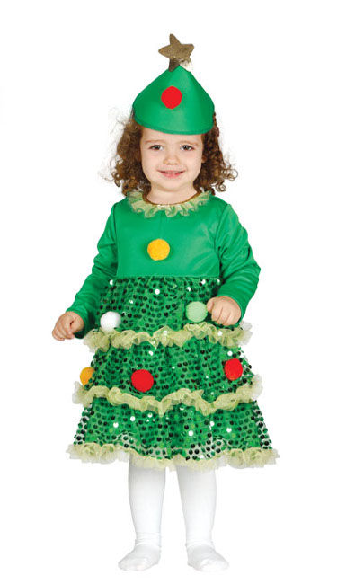 Disfraz de rbol de navidad para beb barato - Disfraces navidad para bebes ...
