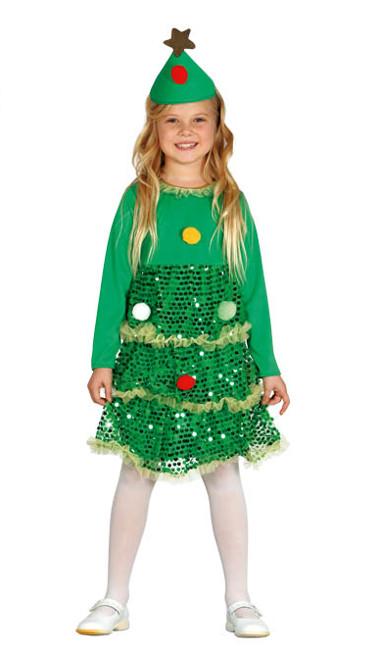 Disfraz de rbol de navidad infantil por 18 75 for Arbol navidad infantil