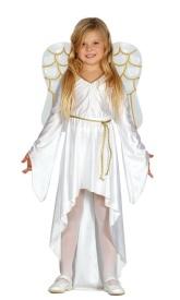 disfraz de ngel con alas infantil