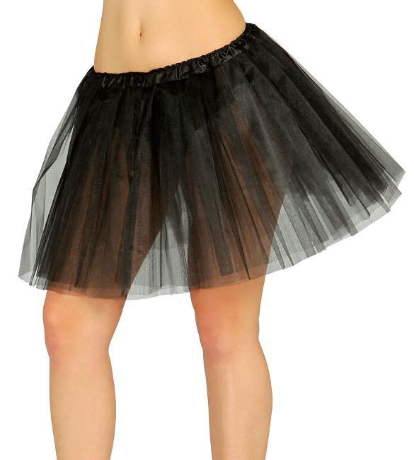 d914fa1e6 Falda de tutú negra para adulta - 40 cm