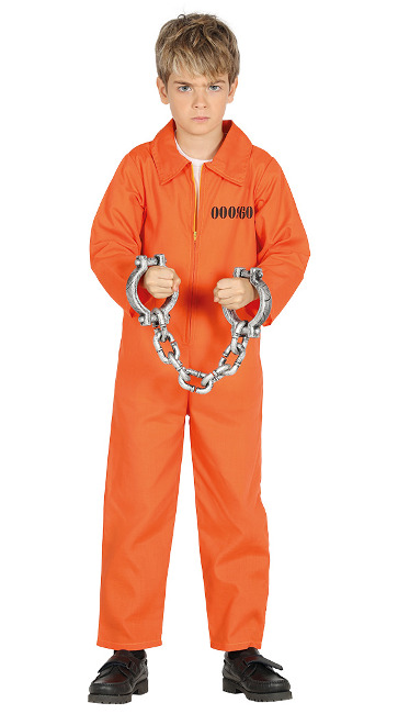 Disfraz de preso Guantánamo para niño barato
