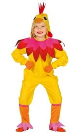 disfraz de gallina para nia