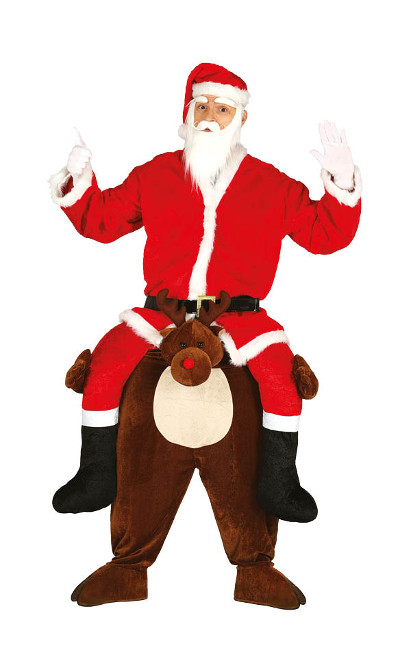 Disfraces de Mamá y de Papá Noel baratos para adultos y niños