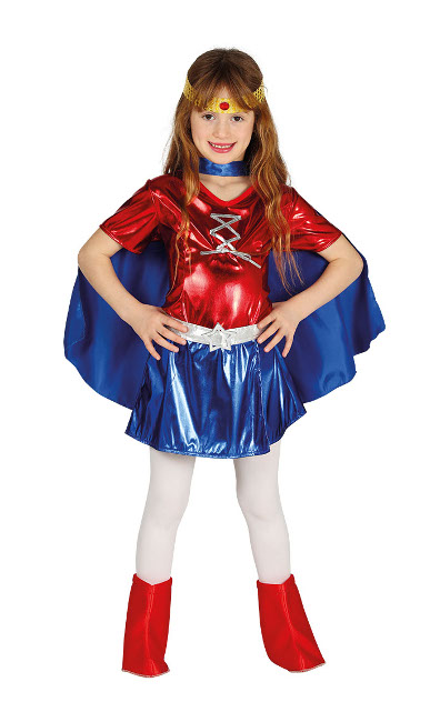Disfraz de mujer maravilla infantil barato 6bc1a5dead51