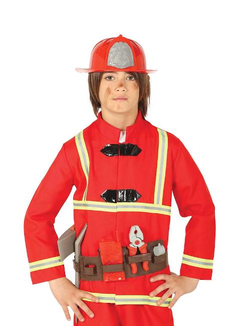 Set de cinturón con accesorios y casco de bombero infantil 0a6158b8ef7