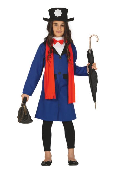 78b08286e Disfraz de Mary Poppins para niña