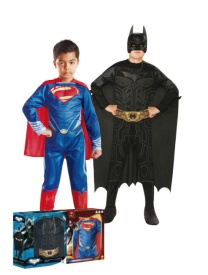 Disfraz de Batman vs. Superman infantil en caja