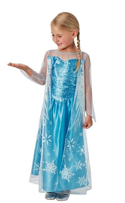 Disfraz De Elsa Frozen Para Niña