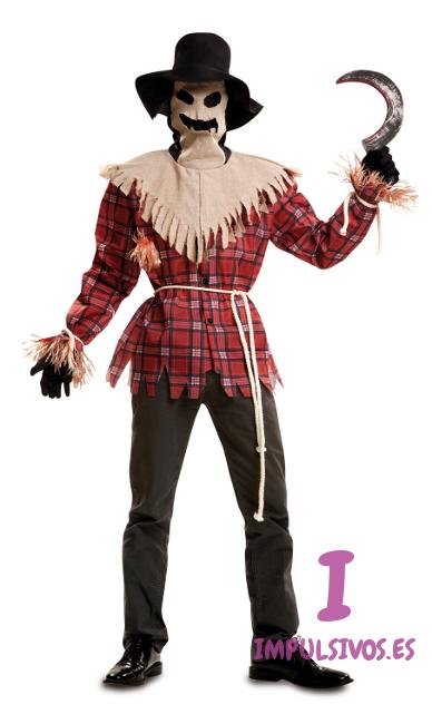 Disfraz de espantapjaros para Halloween por 2425