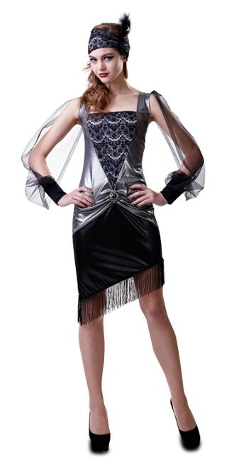 disfraz mujer anos 20