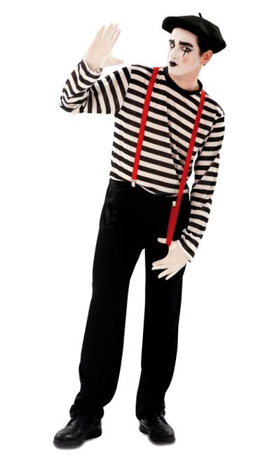 Compra tu disfraz de mimo para hombre por 18 46ea3dbb1f5
