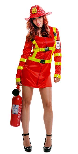 disfraz mujer rojo