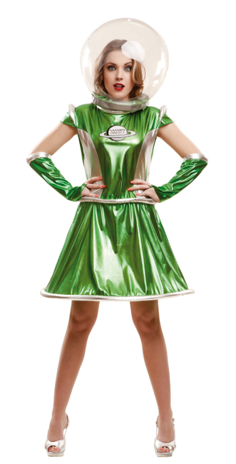 disfraz mujer espacial