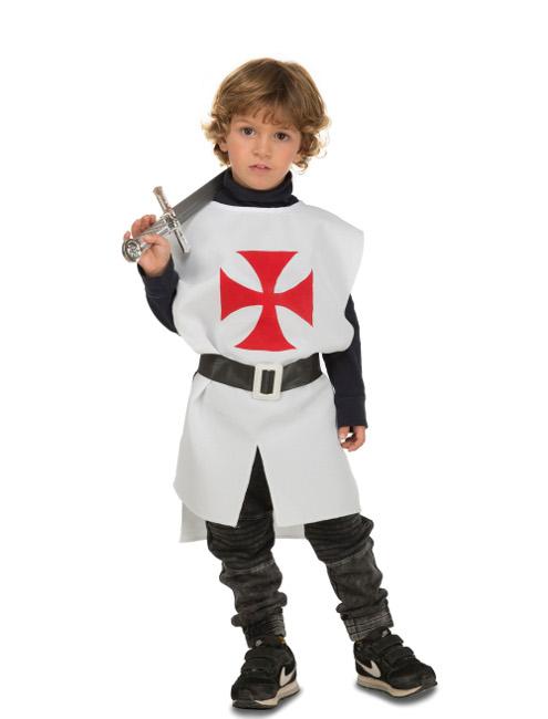Disfraz con casaca medieval blanca para ni o por 6 - Disfraz de angel para nino ...