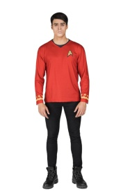 Camiseta disfraz de Star Trek Scotty para adulto